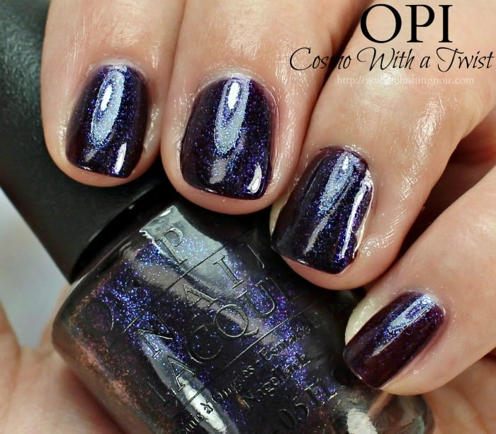OPI Cosmo With a Twist Nail Polish Swatches