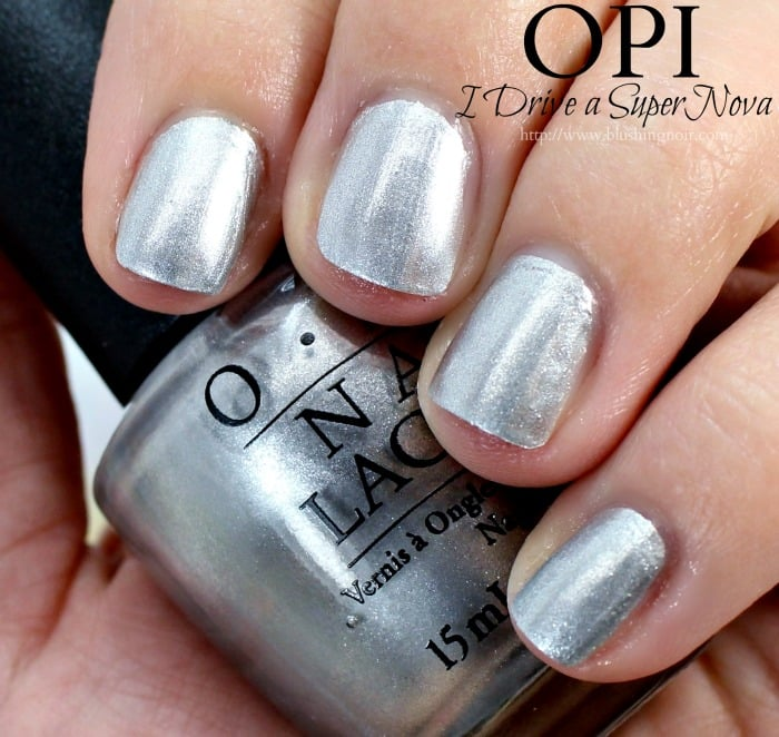 OPI I Drive a Supernova Nail Polish Swatches