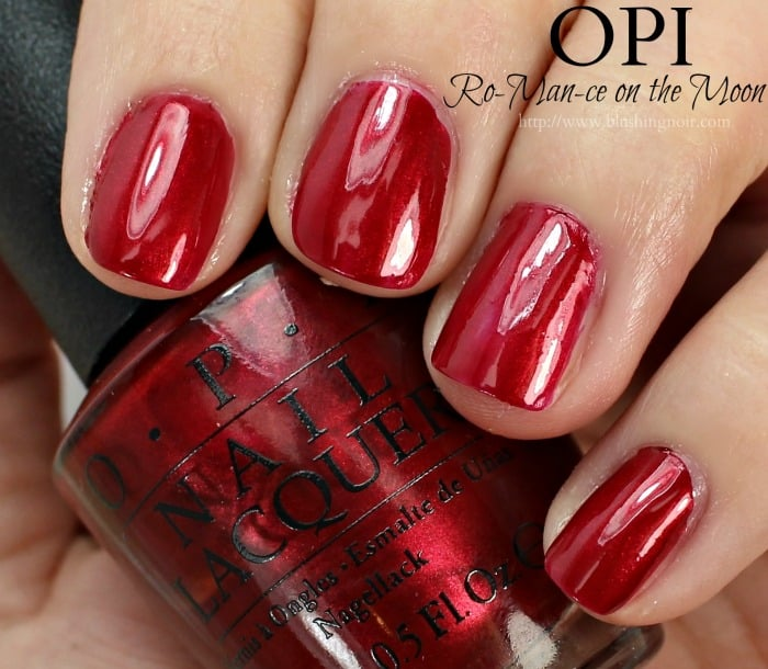 OPI Ro-Man-ce on the Moon Nail Polish Swatches