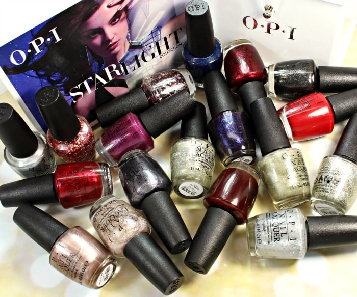 OPI Starlight Nail Polish Collection Swatches
