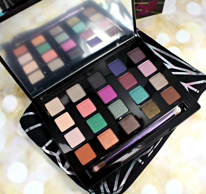 Urban Decay Vice 4 eyeshadow palette swatches review photos