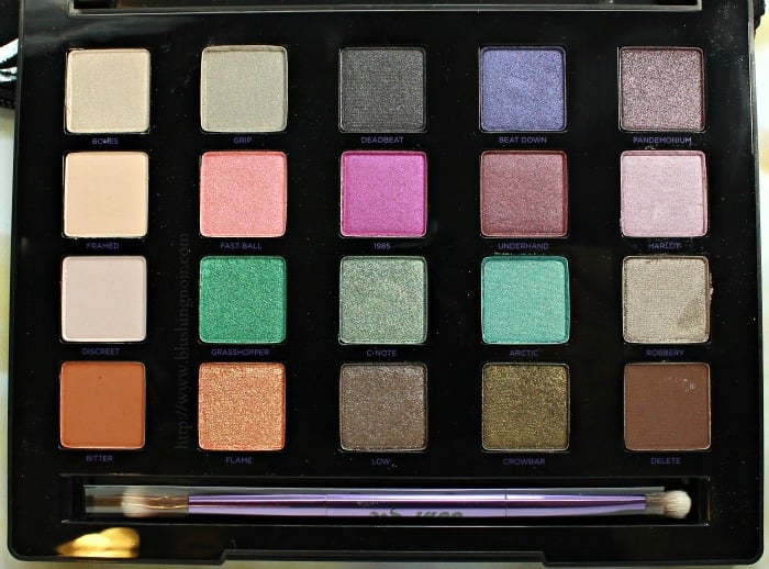 Urban Decay Vice 4 swatches review