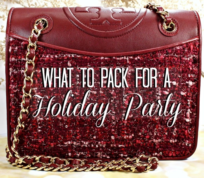 What To Pack in Your Holiday Party Handbag