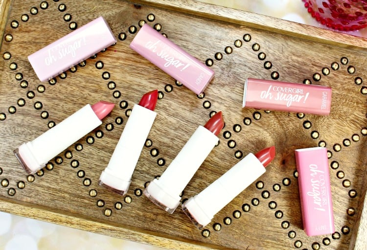 COVERGIRL Oh Sugar! Lip Balm Swatches + Review