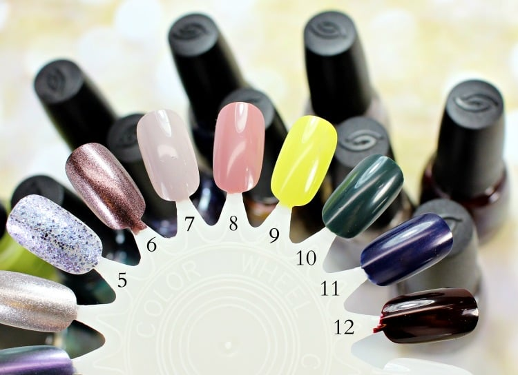 China Glaze The Great Outdoors Nail Polish Swatches review fall 2015 nail wheel