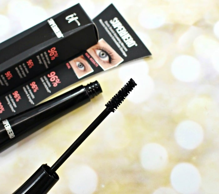 IT Cosmetics Superhero Mascara review swatches QVC