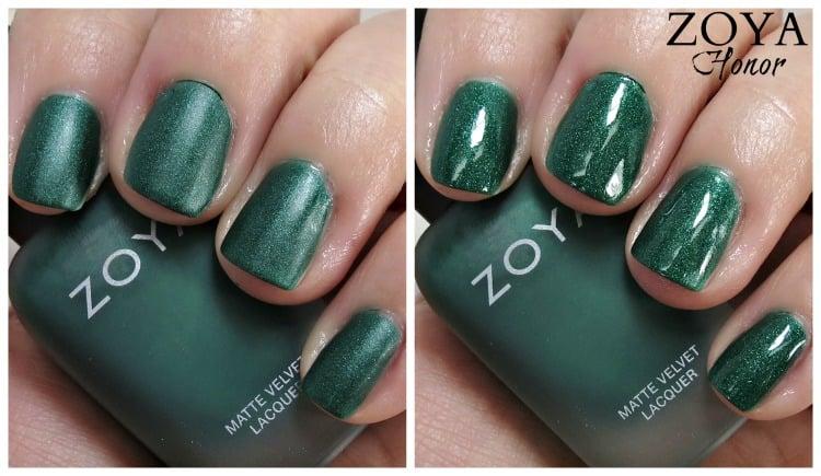 Zoya Honor Nail Polish Swatches