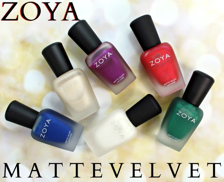 Zoya Matte Velvet Review