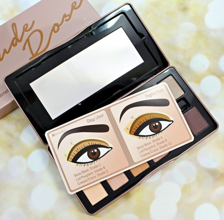 BH Cosmetics Nude Rose Eyeshadow Palette how to