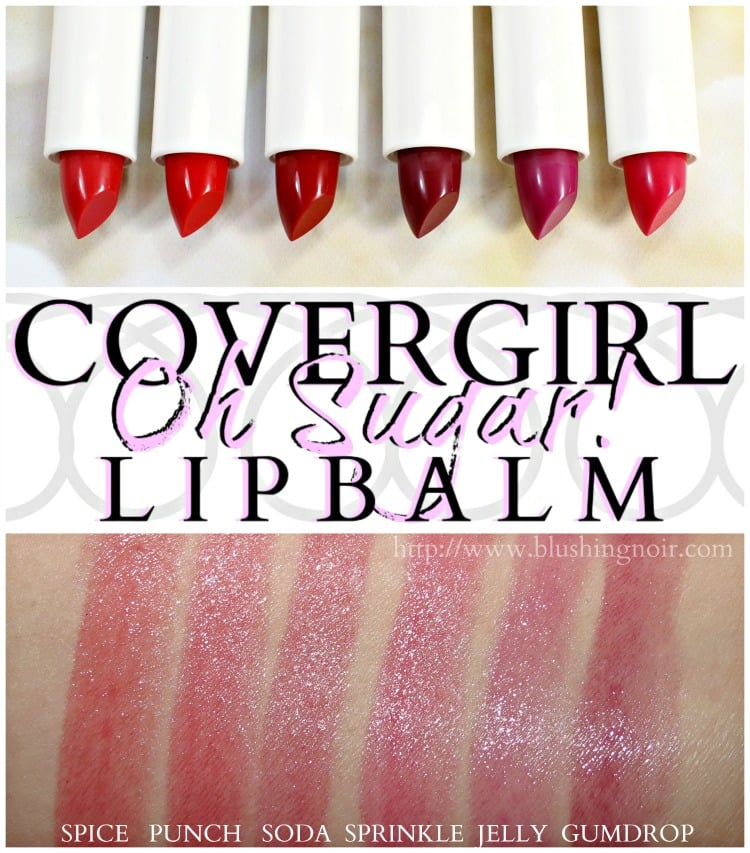 COVERGIRL Oh Sugar Lip Balm Swatches lipstick