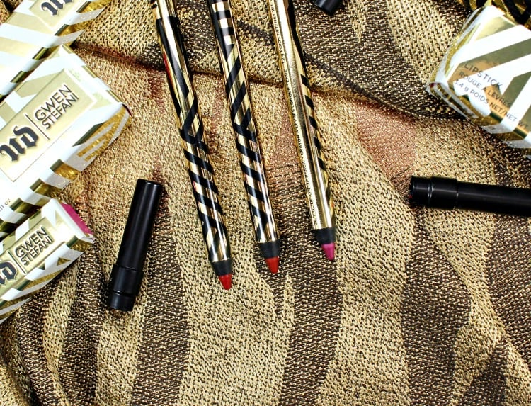 Urban Decay Gwen Stefani 247 Glide-On Lip Pencil Swatches Review
