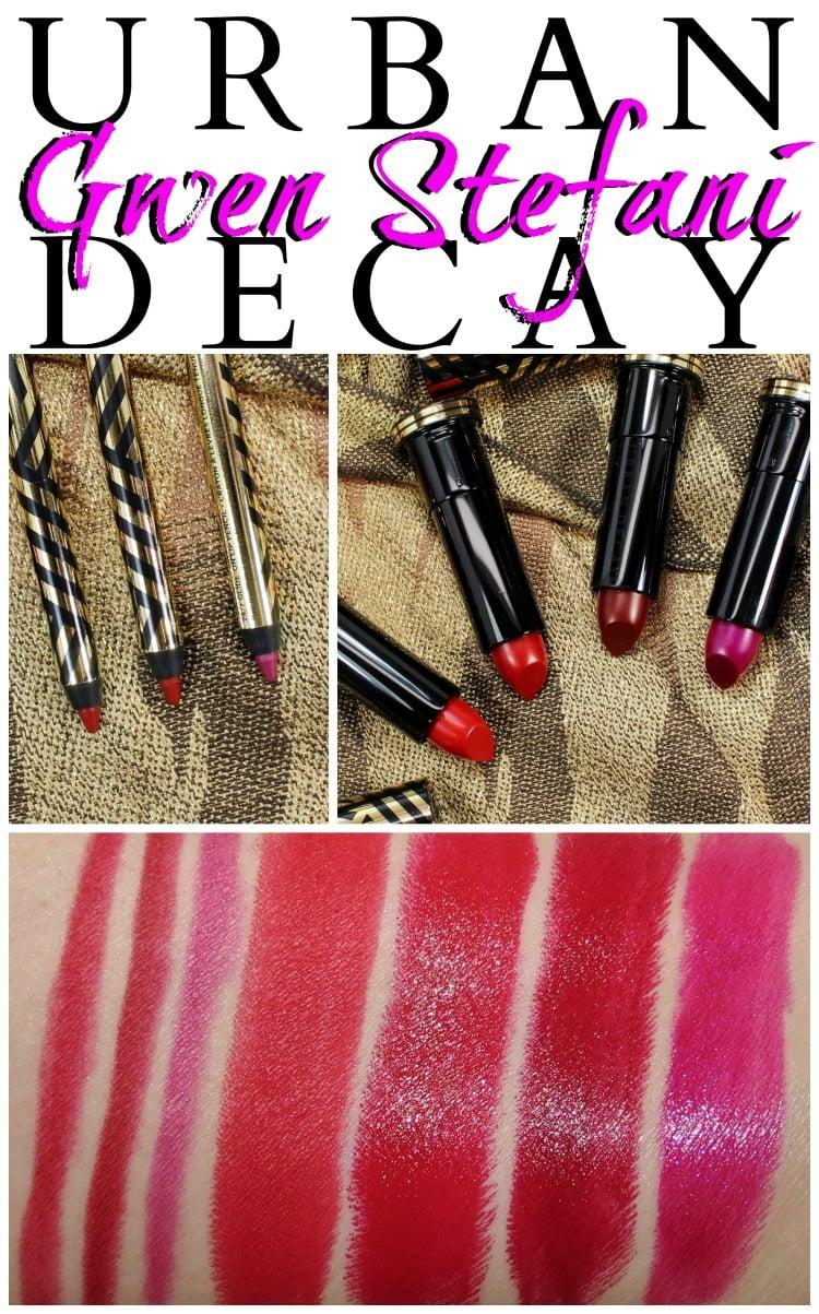 Urban Decay Gwen Stefani 247 Lip Pencil Lipstick swatches