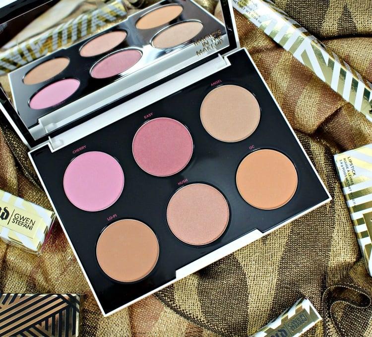 Urban Decay Gwen Stefani Blush Palette swatches photos UD review 2016