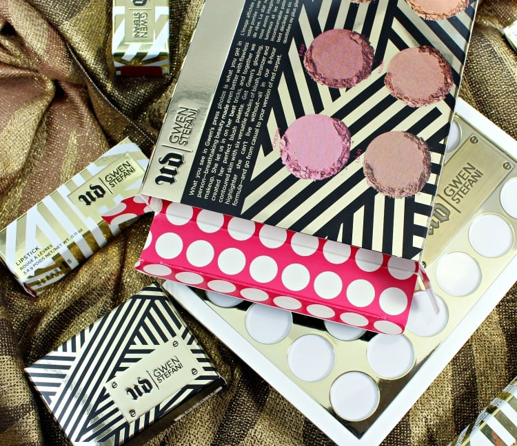 Urban Decay Gwen Stefani Collection Packaging