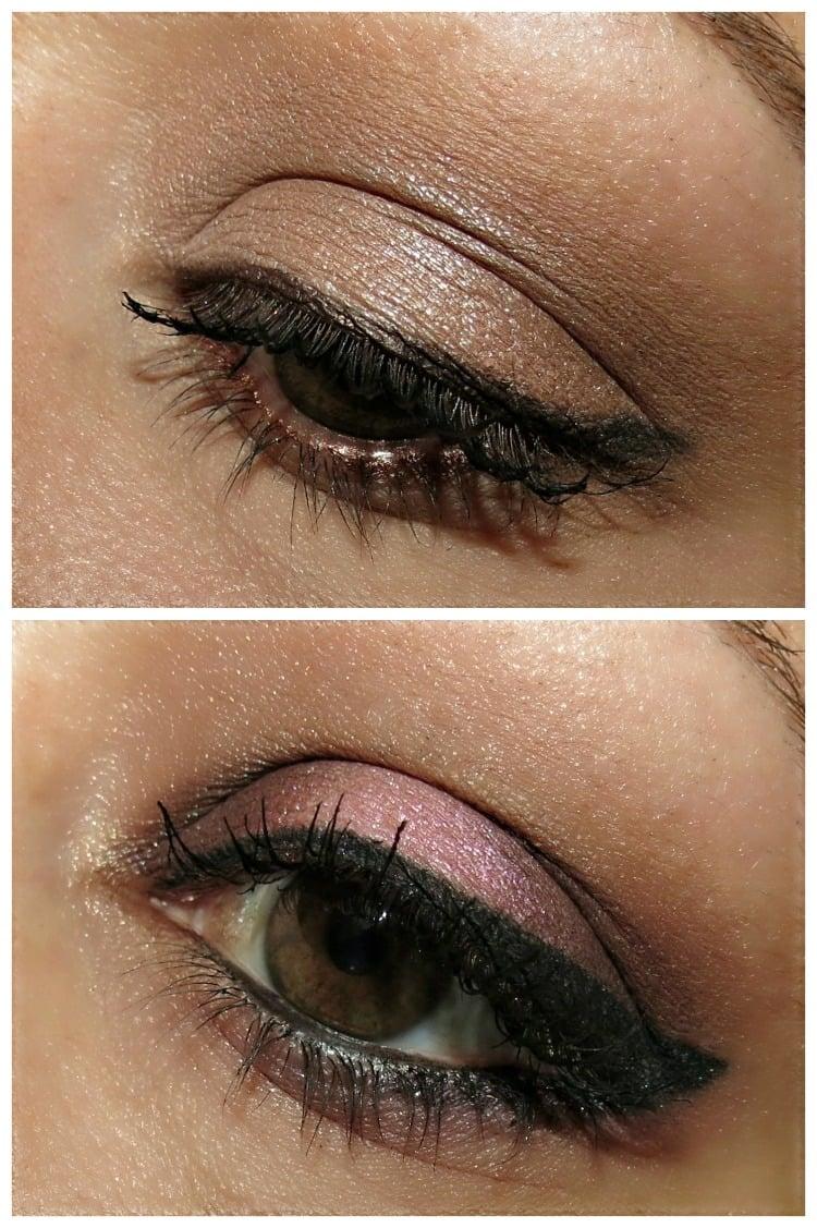 Urban Decay Gwen Stefani eye shadow looks EOTD