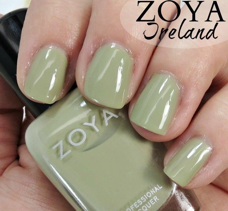 Zoya Ireland Nail Polish Swatches