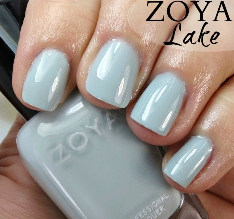 Zoya Lake Nail Polish Swatches