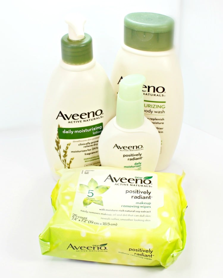Aveeno skincare favorites review