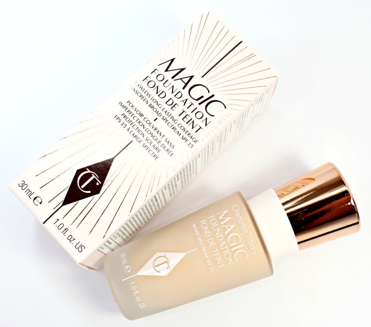 Charlotte Tilbury Magic Foundation review photos swatches 03