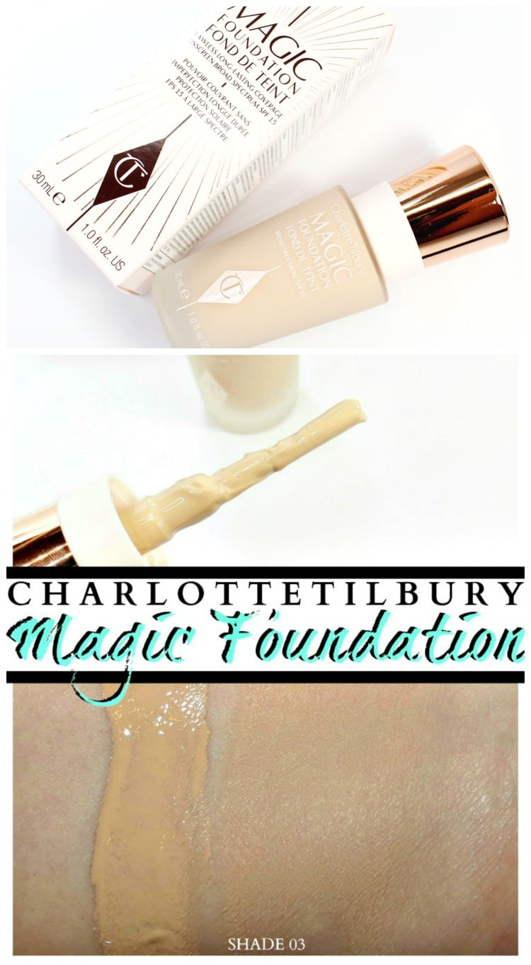 Charlotte tilbury magic foundation pinterest