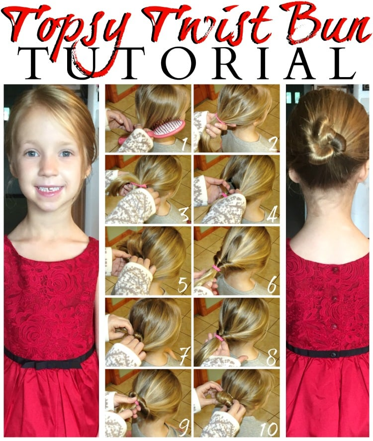 Goody ouchless topsytwist bun tutorial