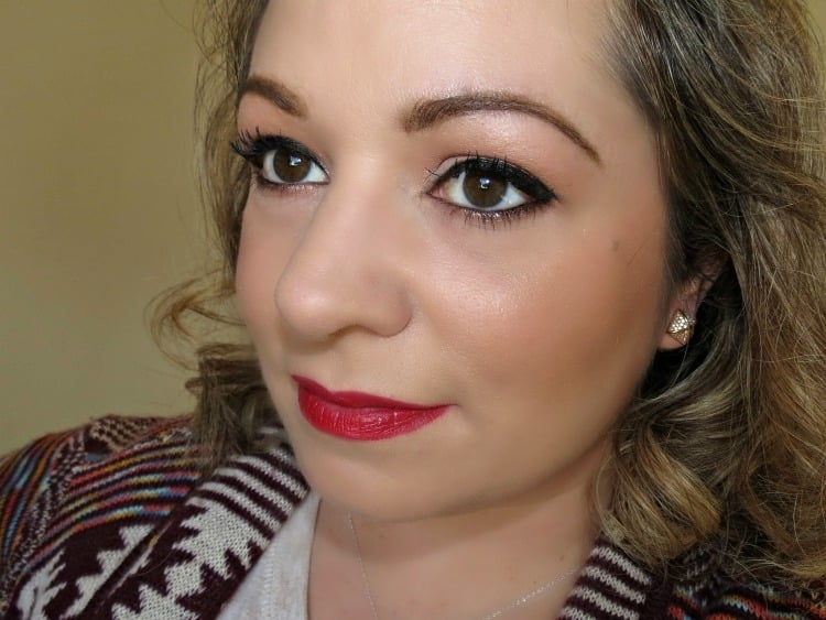 MAC Charlotte Olympia makeup swatches fotd