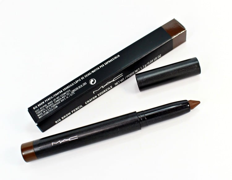 Mac Spiked Big Brow Pencil Swatches Review