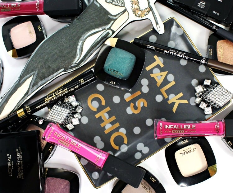new makeup products from l'oreal swatches review
