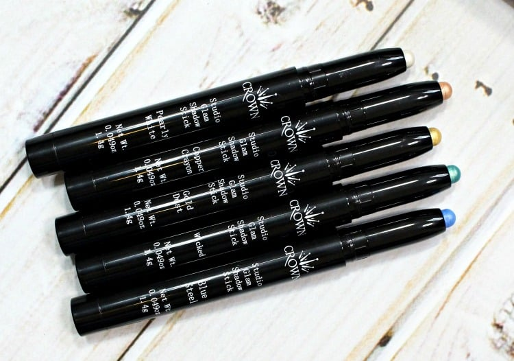 Crown Studio Glam Shadow Stick review