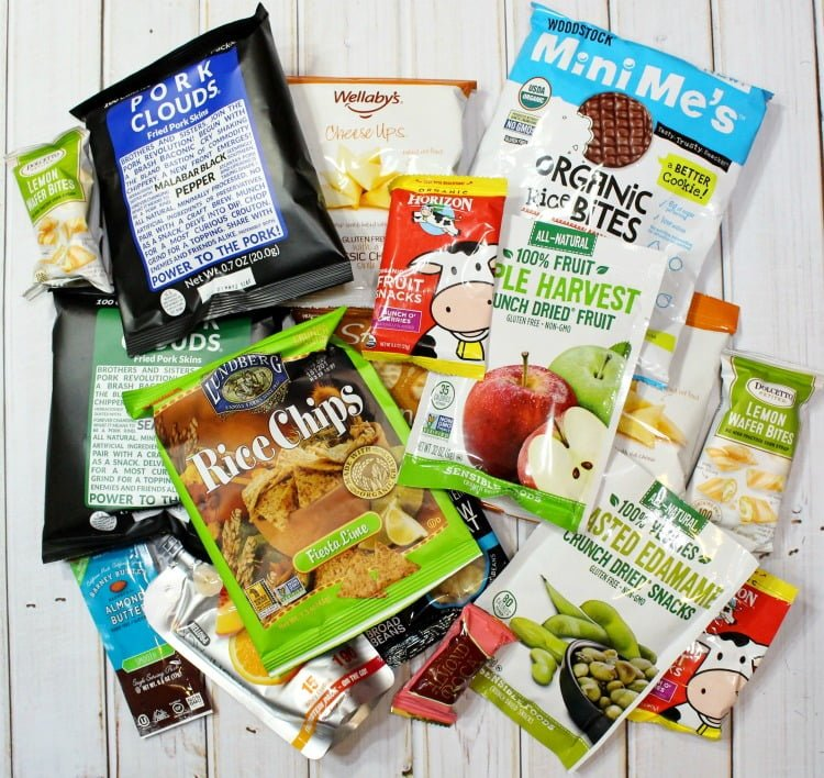 Love With Food Deluxe Subscription Box Snacks