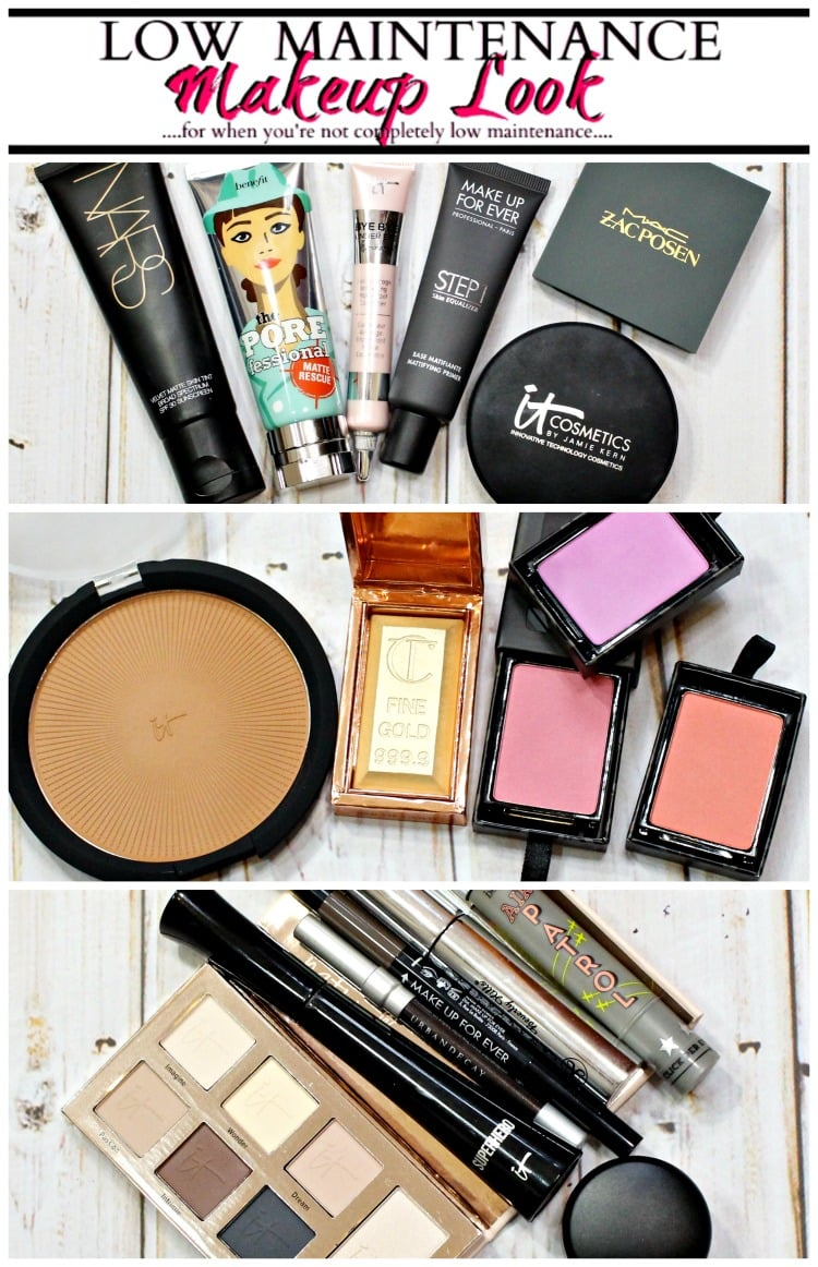 Low Maintenance Makeup for High Maintenance people