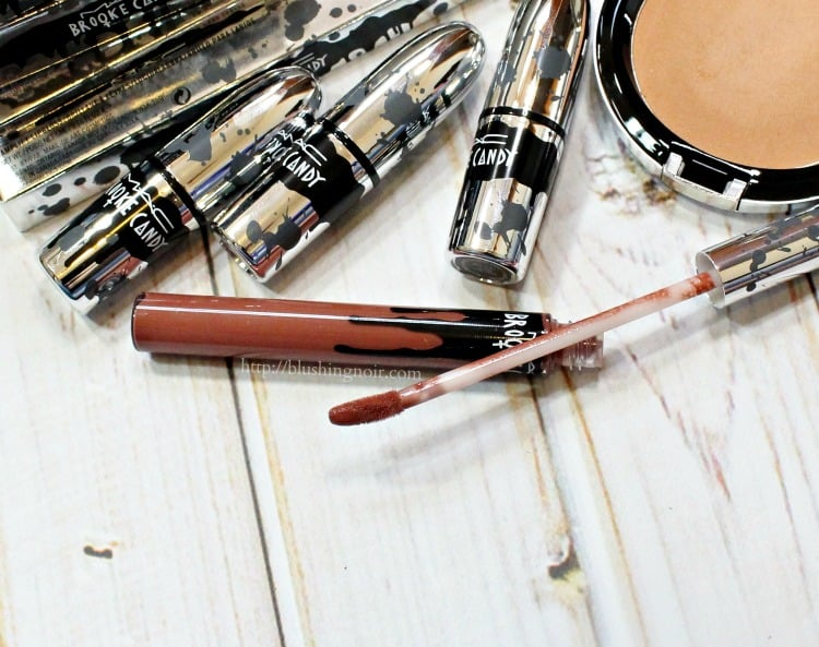 MAC Brooke Candy Vamplify lipstick review pamela
