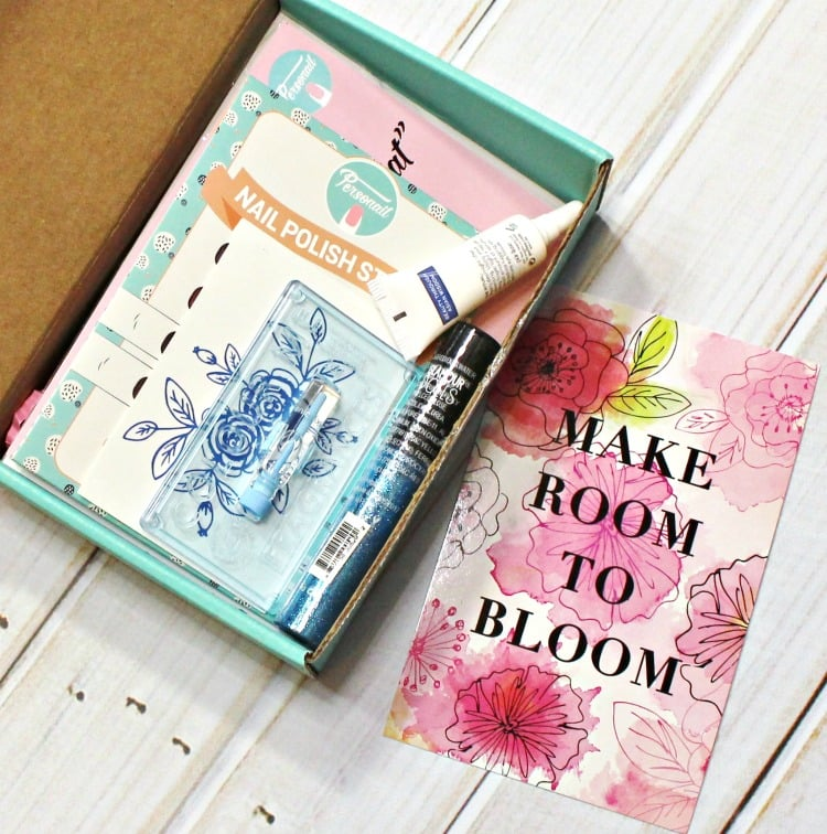 March 2016 Beauty Box 5 Make Room to Bloom