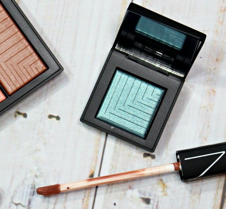 NARS Deep End Dual-Intensity Eyeshadow Swatches review