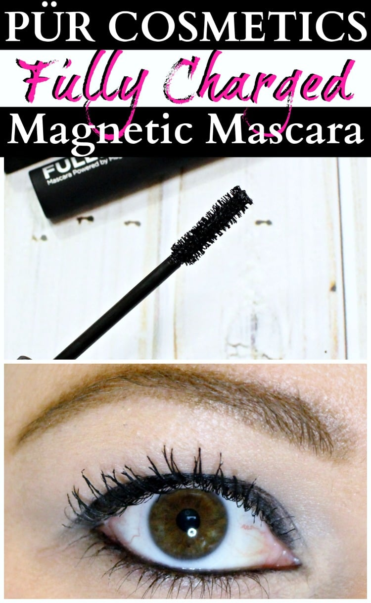 PÜR Cosmetics Fully Charged Magnetic Mascara swatches