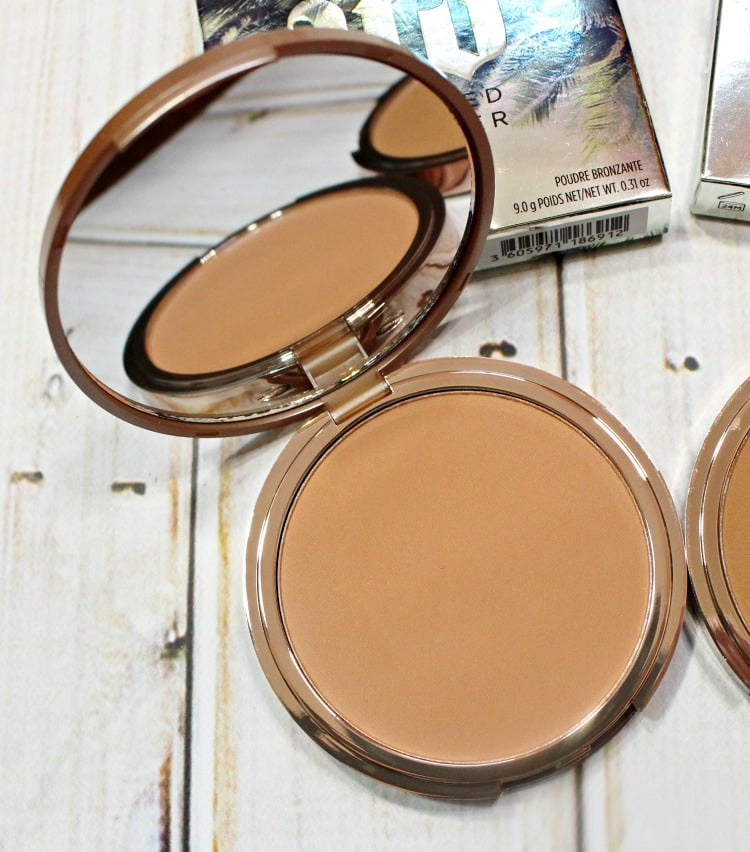 Urban Decay Sun-Kissed Beached Bronzer Swatches