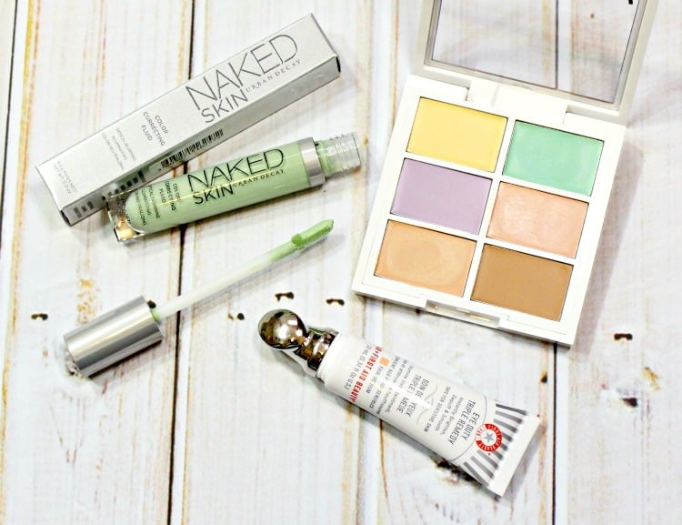 amazing color correcting makeup products for oily skin