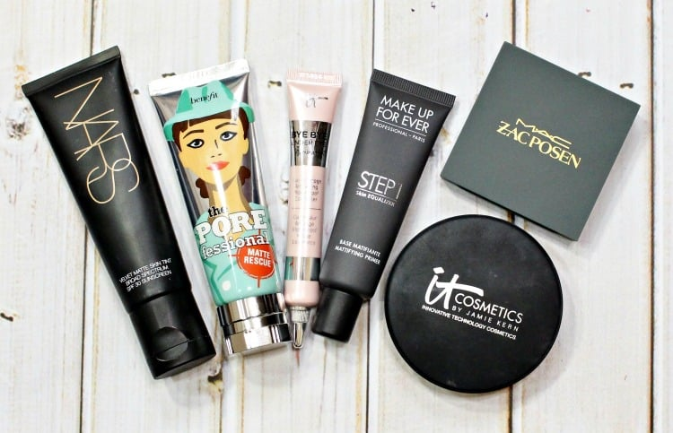 best makeup products for the face oily skin