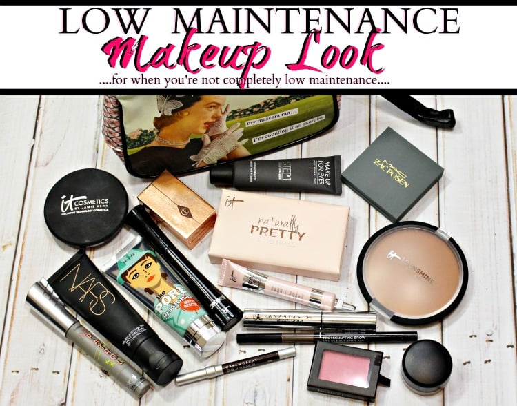 low maintenance makeup look for when you're high maintenance easy makeup