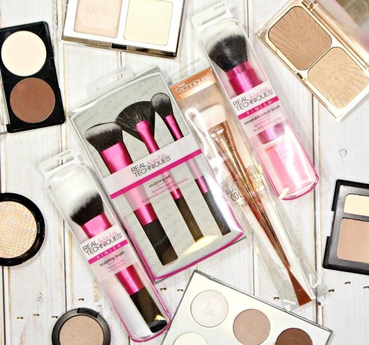 makeup brushes for natural makeup contour tools