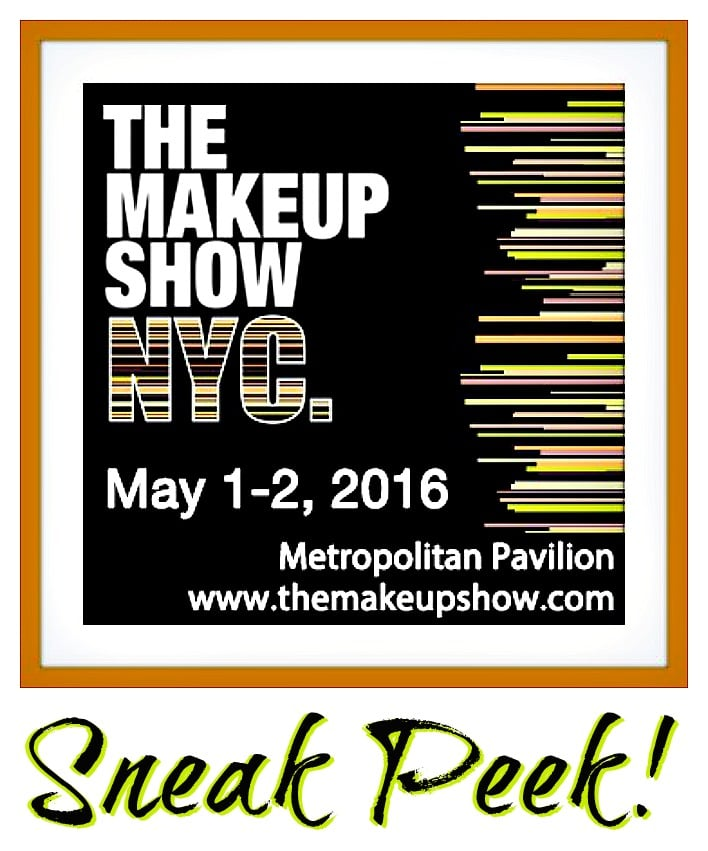 the makeup show NYC sneak peek products brands exhibitors