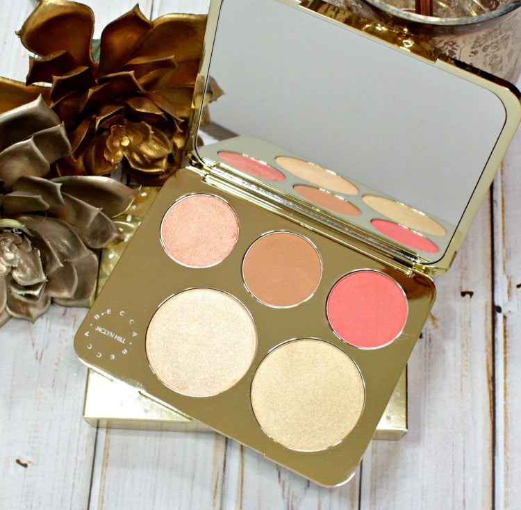 Becca x Jaclyn Hill Champagne Face Palette swatches review photos pics prosecco pop