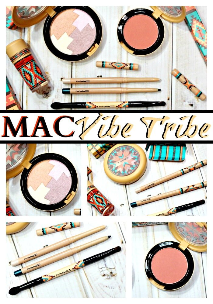 MAC Vibe Tribe Collection Swatches review pinterest