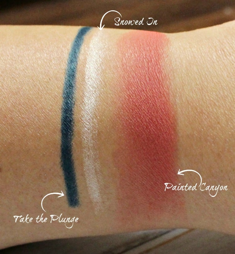 MAC Vibe Tribe blush liners swatches makeup collection review