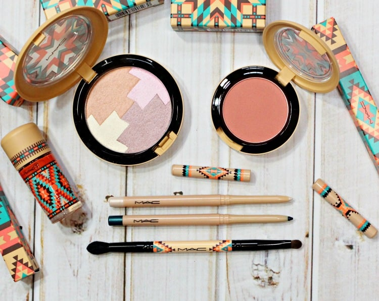 MAC Vibe Tribe makeup collection product swatches review