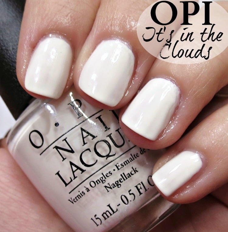 OPI It's In the Cloud Nail Polish Swatches