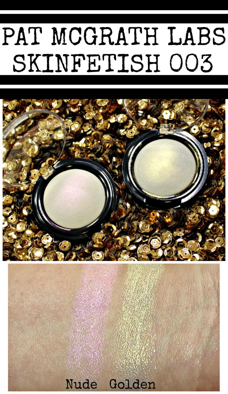 Pat McGrath Labs Skinfetish 003 swatches review golden nude pinterest