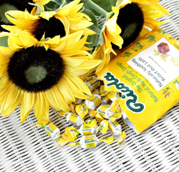 Ricola #SwissHerbs throat drops allergy relief