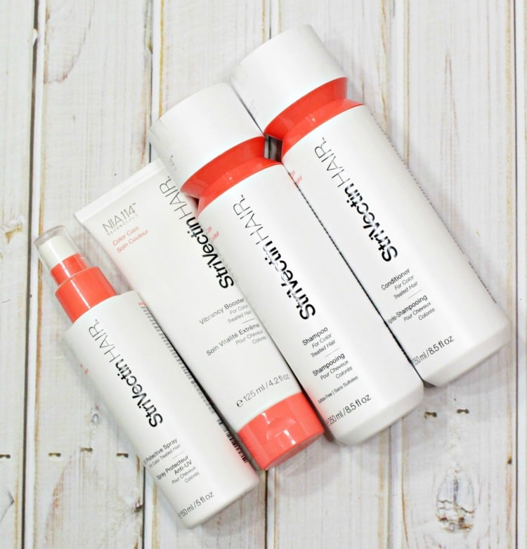 Strivectin hair Color care