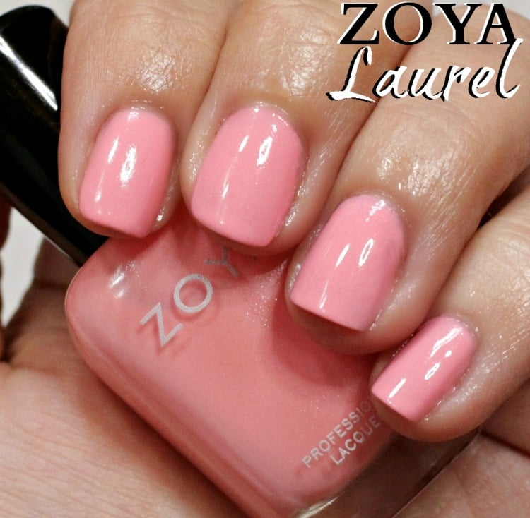 Zoya Laurel Nail Polish Swatches